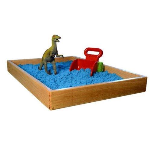 Sandtastik PLATRAYOAK Handcrafted Oak Sand Therapy Tray - 28.5 x 19.5 in.