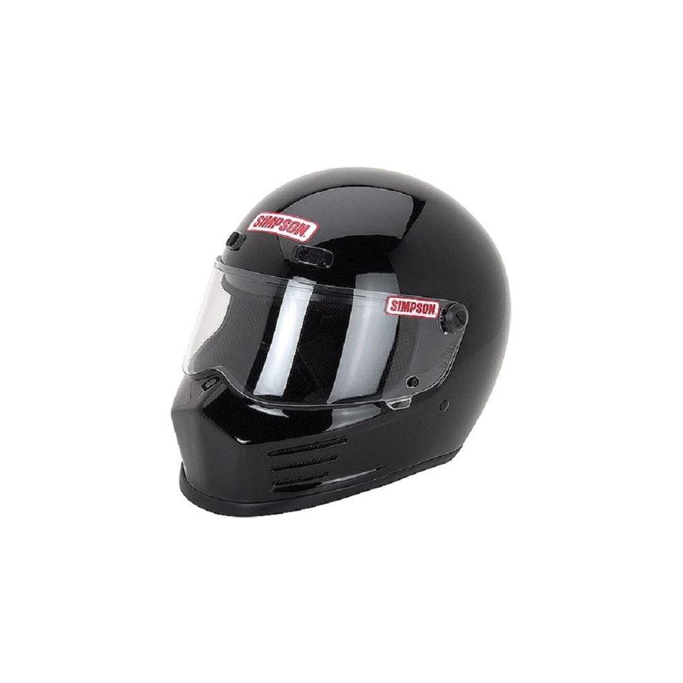fce3e40d Simpson Street Bandit Helmet Snell M2015 Gloss Black Xl X-Large 62Cm 7 3/