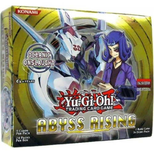Yu-Gi-Oh! TCG Abyss Rising 1st Edition English Booster Box (24 Packs)