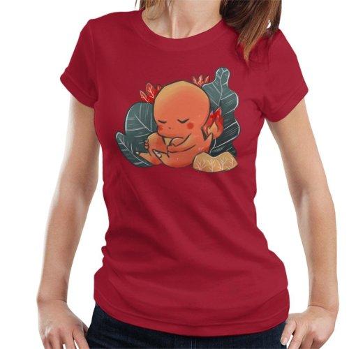 Pokemon Sleeping Charmander Women's T-Shirt