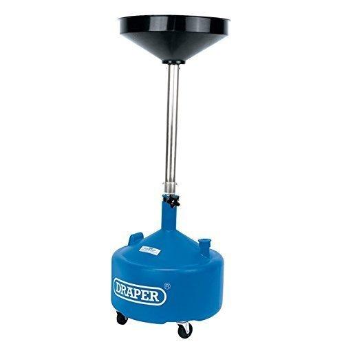 30ltr Plastic Oil Drainer - Draper Telescopic 30l 23612 -  draper telescopic oil drainer 30l 23612