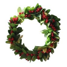 Artificial Wreath Hanging Garland Door Wreath Home Decor Fruit