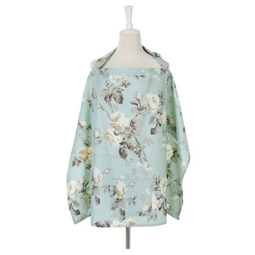 100% Cotton Classy Nursing Cover Large Coverage Breastfeeding Nursing Apron F