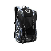 Fashion School Laptop Backpack Lightweight Travel Backpack,ex Camouflage blue