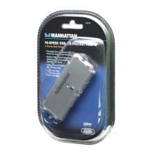 MANHATTAN Hi-Speed USB Pocket Hub (160599)