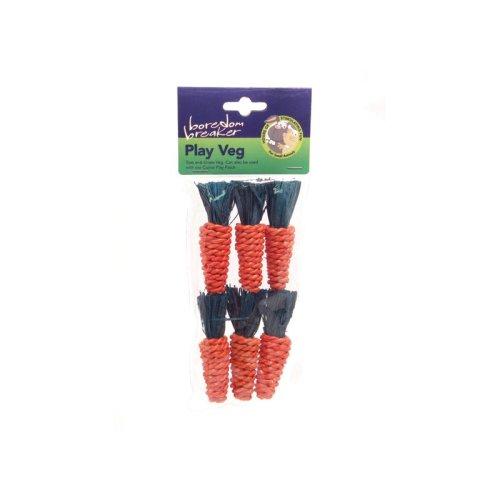 Boredom Breaker Mini Sisal Carrots 6pk (Pack of 6)