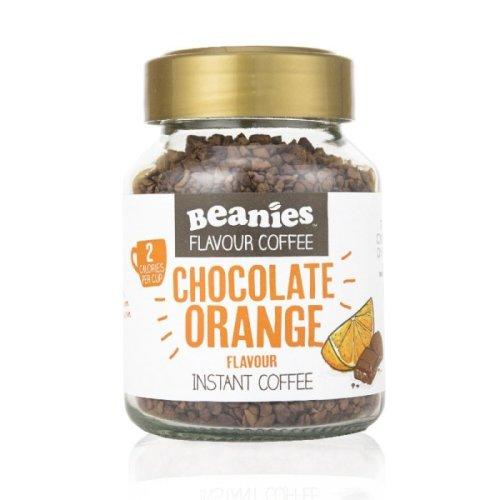 Beanies Instant Chocolate Orange Coffee 50g