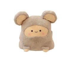 Plush Birthday Gift Dakimakura/Throw Pillow (40cm),Gray Mouse