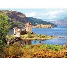 Csc200016 - Castorland Jigsaw 2000 Pc - Eilean Donan Castle, Scotland
