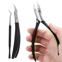 Y.F.M® Ingrown Toenails Nipper Clipper Paronychia Care Cutter Thick Stainless Steel