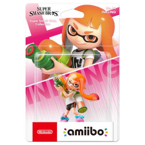 Nintendo Amiibo Super Smash Bros Inkling No 64