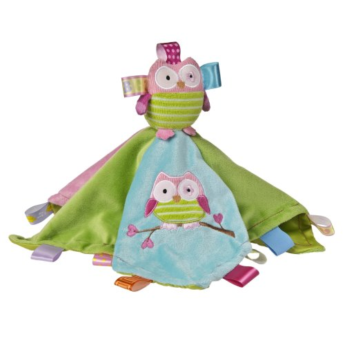 Mary Meyer Taggies Character Blanket Oodles Owl Plush Toy