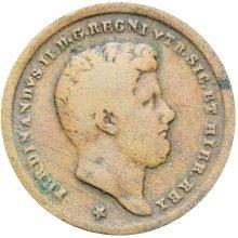 Italy states Naples & Sicily 1859 2 Tornesi  Ferdinand II Coin