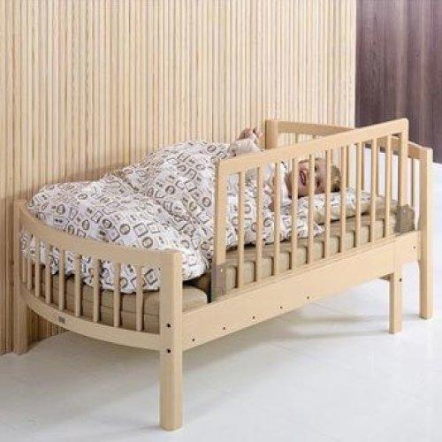 Babydan Wooden Natural Genuine Wood Bed Guard
