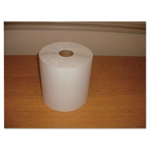 Morcon W12600 Hardwound Roll Towel Paper, White - Case of 12