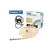 Eagle Static Plug and Play LED Rope Light 9m White