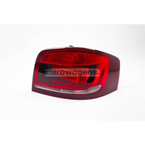 Rear light right dark red Audi A3 10-12 3 door