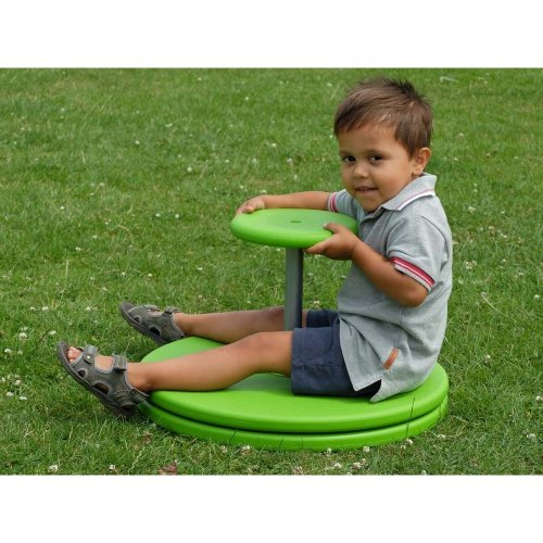 Childrens Mini Roundabout Whizzy Dizzy Indoor / Outdoor Play Spinner