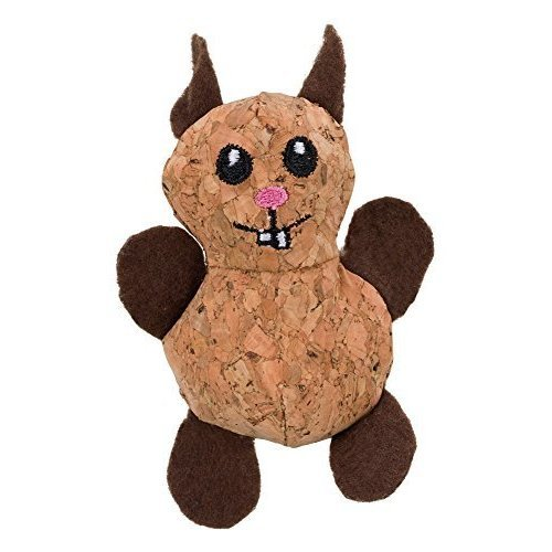 Trixie Cork Beast Toy - Cat Korktier New -  trixie cat toy korktier new