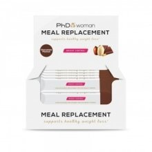 PhD - Woman - Meal Replacement - Chocolate Peanut - 12 Bars