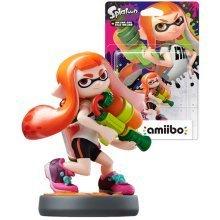 Amiibo Splatoon Girl Nintendo Wii U 3DS