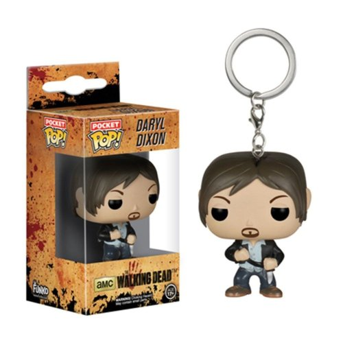 Funko Pop Boxed Vinyl Keyring | Daryl Dixon - The Walking Dead