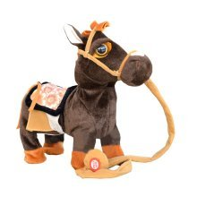 Children's Toys Pet Horse Walking Plush Toy