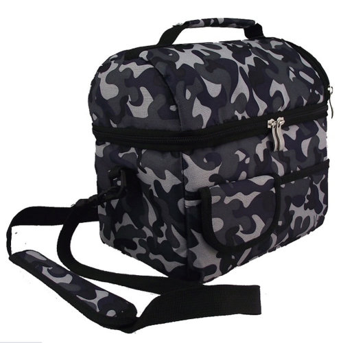 Ocean Camouflage Infant Bottle Tote Bag Baby Keep Milk Fresh Bag Double-Deck