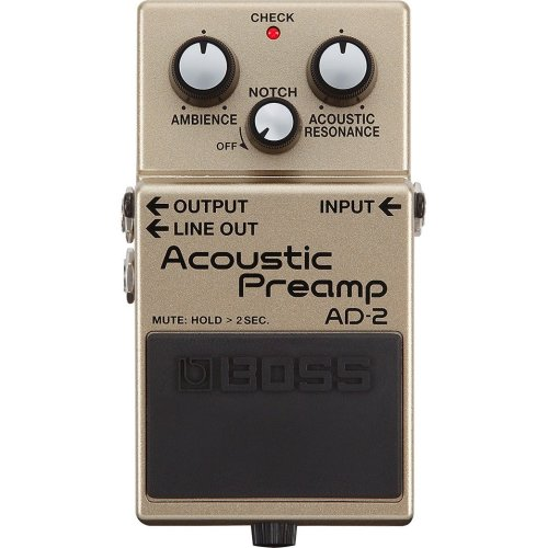 Boss AD-2 Acoustic Preamp Compact Guitar Effects Pedal