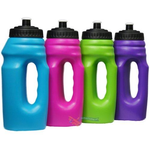 Easy grip handle water bottle