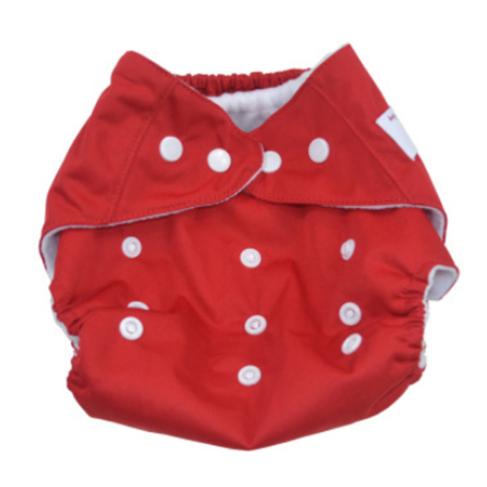 77555166d60e Summer Grid Baby Cloth Diaper Cover Adjustable Size Red on OnBuy
