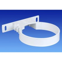 Wavin OSMA 110mm SOIL 4S082 Pipe Bracket WHITE