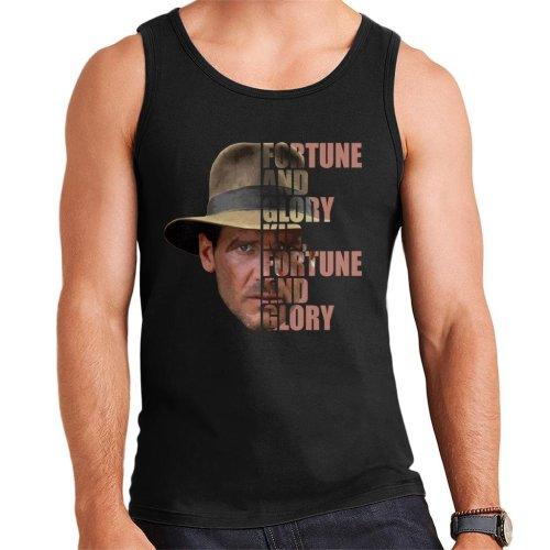 Indiana Jones Half Head Text Men's Vest
