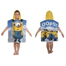 OFFICIAL DESPICABLE ME MINIONS BELLO PONCHO TOWEL