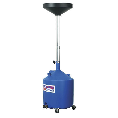 Sealey AK80D 80ltr Mobile Oil Drainer Manual Discharge