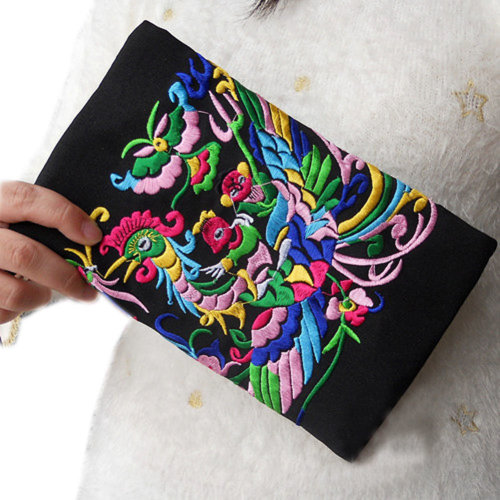 Double-sided Embroidery Needlecrafts Handmade Embroidery, Wallet & Purse bag(5)