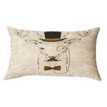 Beautiful and Practical Waist Pillow Decorative Lumbar Pillow, Gray