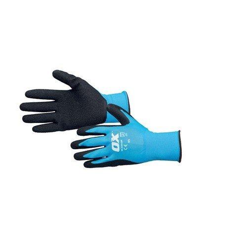 OX S484209 Latex Flex Glove Size 9 / L