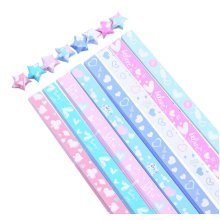 Lucky Star Folding Wish Star Origami Paper 370 Sheets