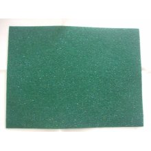 "Kunin Pack of 2 Eco-Felt Glitter Felt Sheets - 9"" x 12"" - Green"