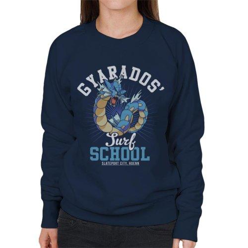 Gyarados Surf School Pokemon Women's Sweatshirt