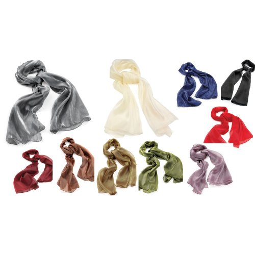 Chiffon Organza Scarf Shawl Shoulder Arm Wrap