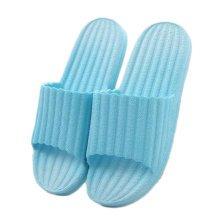 Indoor Cozy Bathroom Non-slip Slippers House Slipper For Womens, Blue