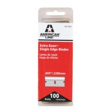 American Safety Razor 66-0362 Extra Keen Single Edge Razor Blades, 100-Pack