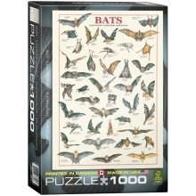 Eg60003820 - Eurographics Puzzle 1000 Pc - Bats