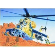 MIL-24 HIND D/E - AIRCRAFT 1:72 - Italeri 014
