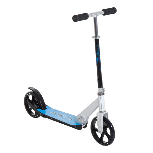 HOMCOM Folding Kids Kick Scooter-Blue