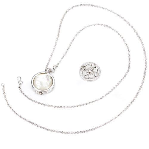 Hot Diamonds Emozioni Necklace & Day & Night Coin Pendant