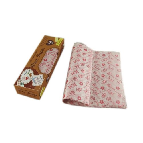 Lovely Candy Paper Wax Paper Grease Proof Paper for Baking Cookies, 50 Pcs