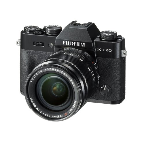 Fujifilm X-T20 With XF 18-55 Lens - Black | Mirrorless Camera